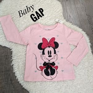 NWT ~ BABY GAP Minnie Mouse Tee